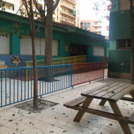 Entregadas las obras del CEIP Bartolomé Cossió en Valencia.